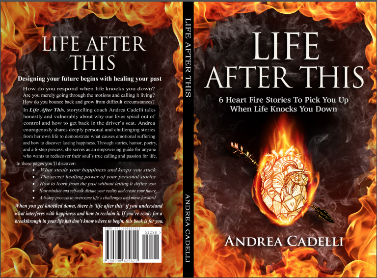 Life After This, by Andrea Cadelli, personal stories, spiritual growth, anxiety and depression, finding happiness, personal growth, growing up catholic, coming out stories