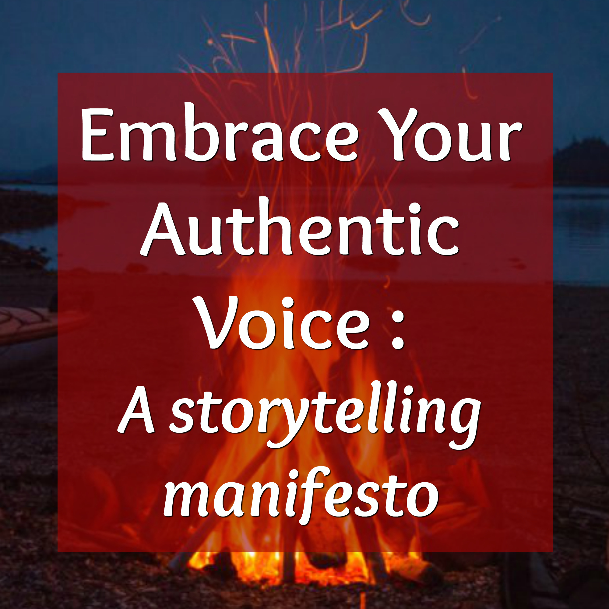 Embrace Your Authentic Voice
